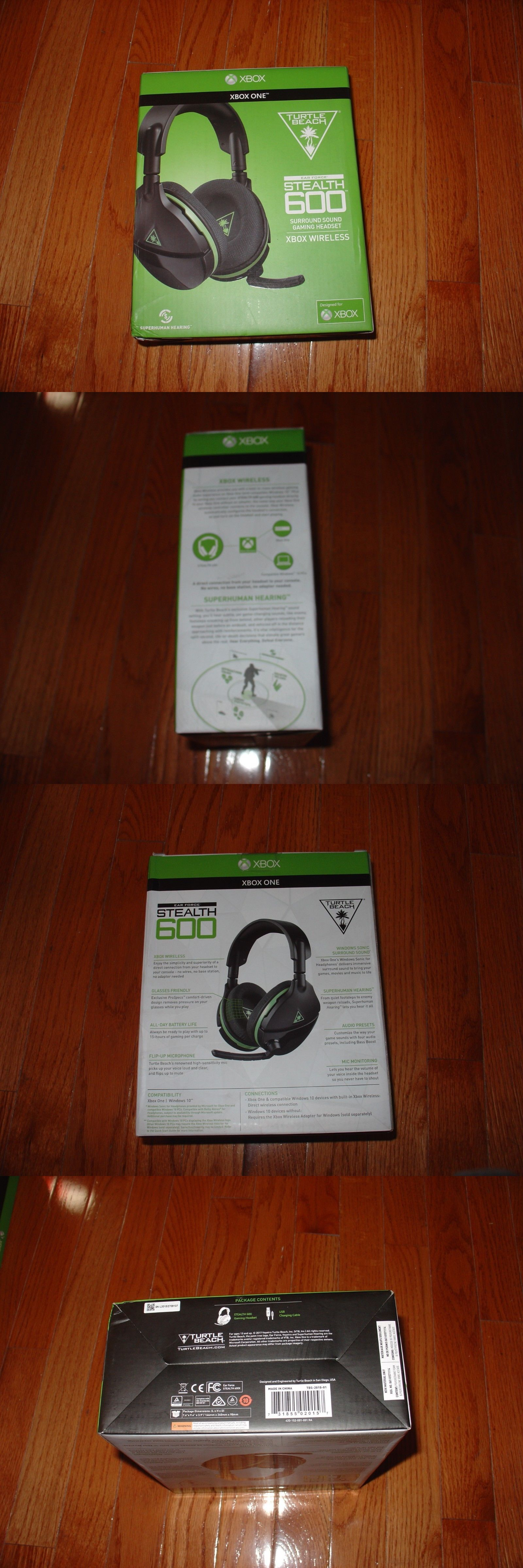 Headsets 171821: Turtle Beach Stealth 600 Headset Wireless For Xbox One ->  BUY IT NOW ONLY: $98.95 on #eBay #headsets #… | Xbox one for sale, Turtle  beach, Xbox one
