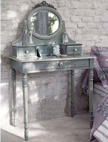 Histoire d 39 un objet la coiffeuse floriane lemari idees decoration coiffeuse ancienne - Miroir baroque ikea ...