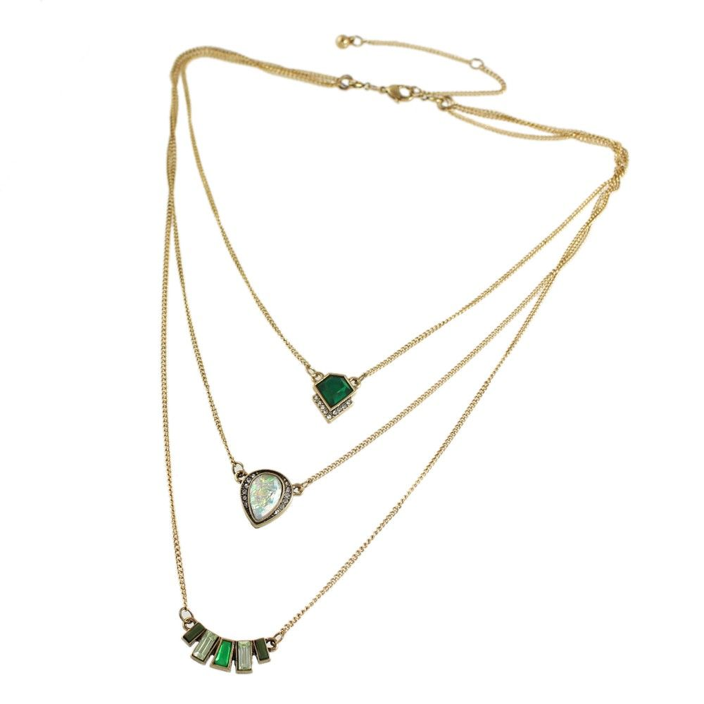 theloom necklace mandara multilayer stjp b spritz buy brown at cotton cords online