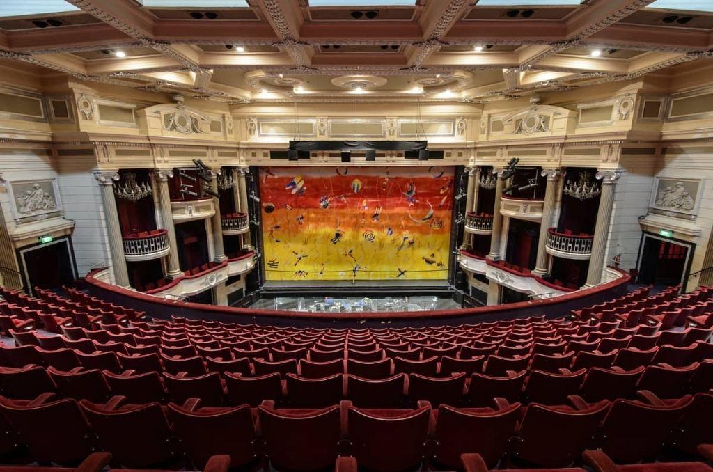 nia birmingham seating plan