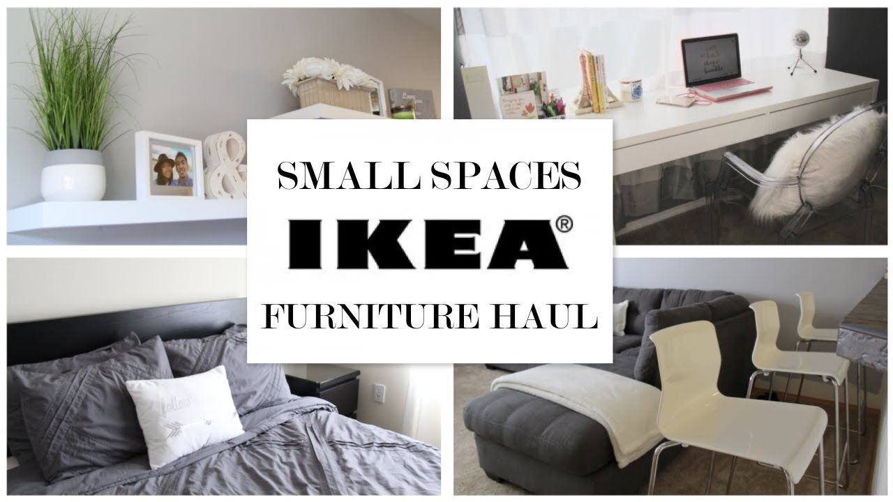 Ikea Ideas For Small Spaces  Furniture Haul  Ikea  Pinterest Enchanting Ikea Small Living Room Design Ideas Review