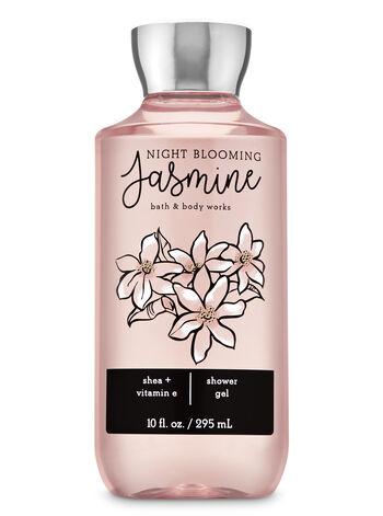 Night Blooming Jasmine Shower Gel Shower Gel Bath And Body Works Bath And Body