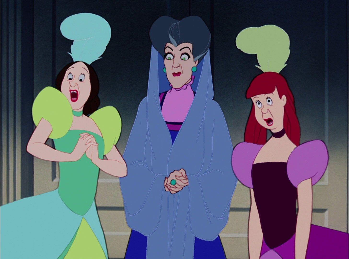 Cinderella 1950 animation screencaps walt disney