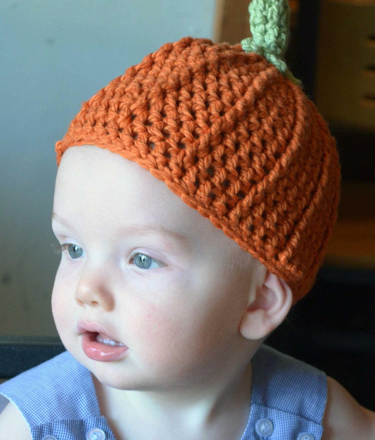 Baby Pumpkin Hat available on Etsy