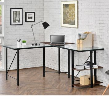You Ll Love The Pando Computer Desk At Wayfair Great Deals On All Office Products With Free Shipping Most Stuff Even 104