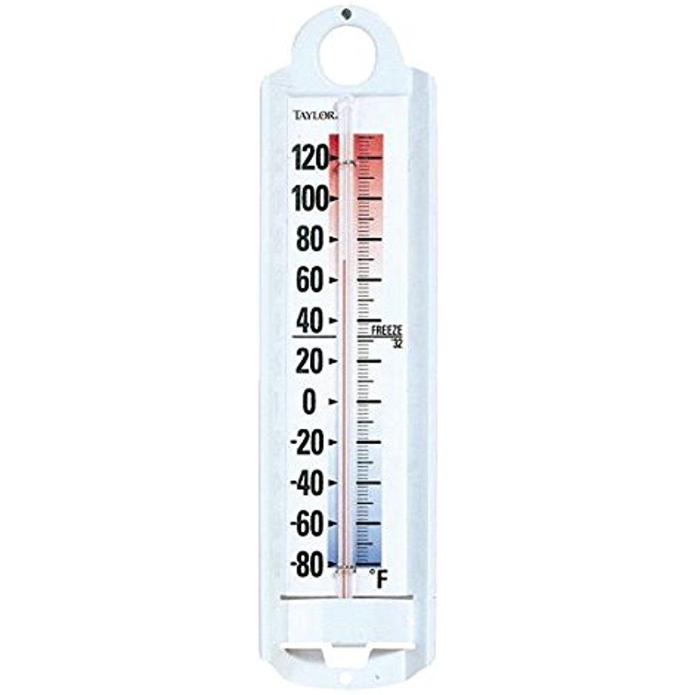 Taylor Indoor Outdoor Wall Mounted Thermometer Large Weather