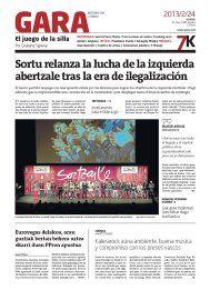 GARA - Euskal Herriko egunkaria