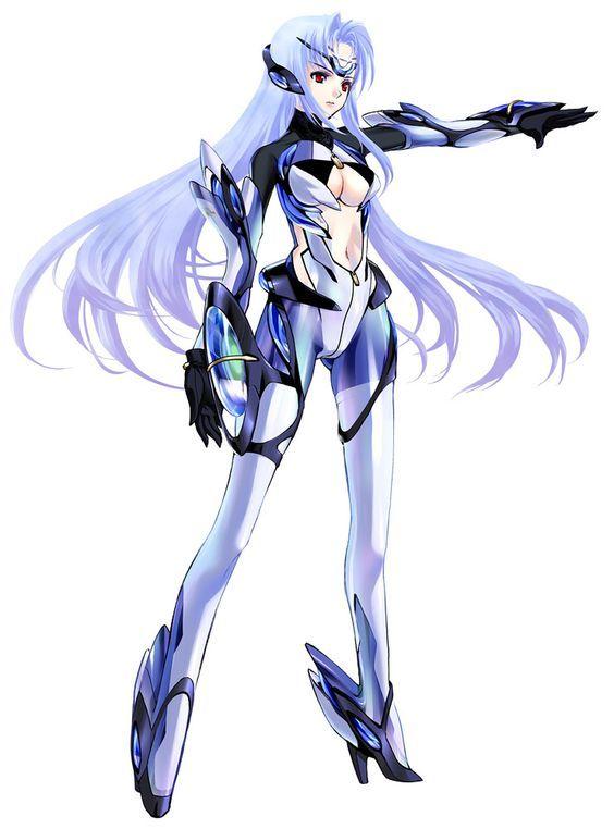 Xenosaga Character Design : Kos mos from xenosaga episode iii anime pinterest