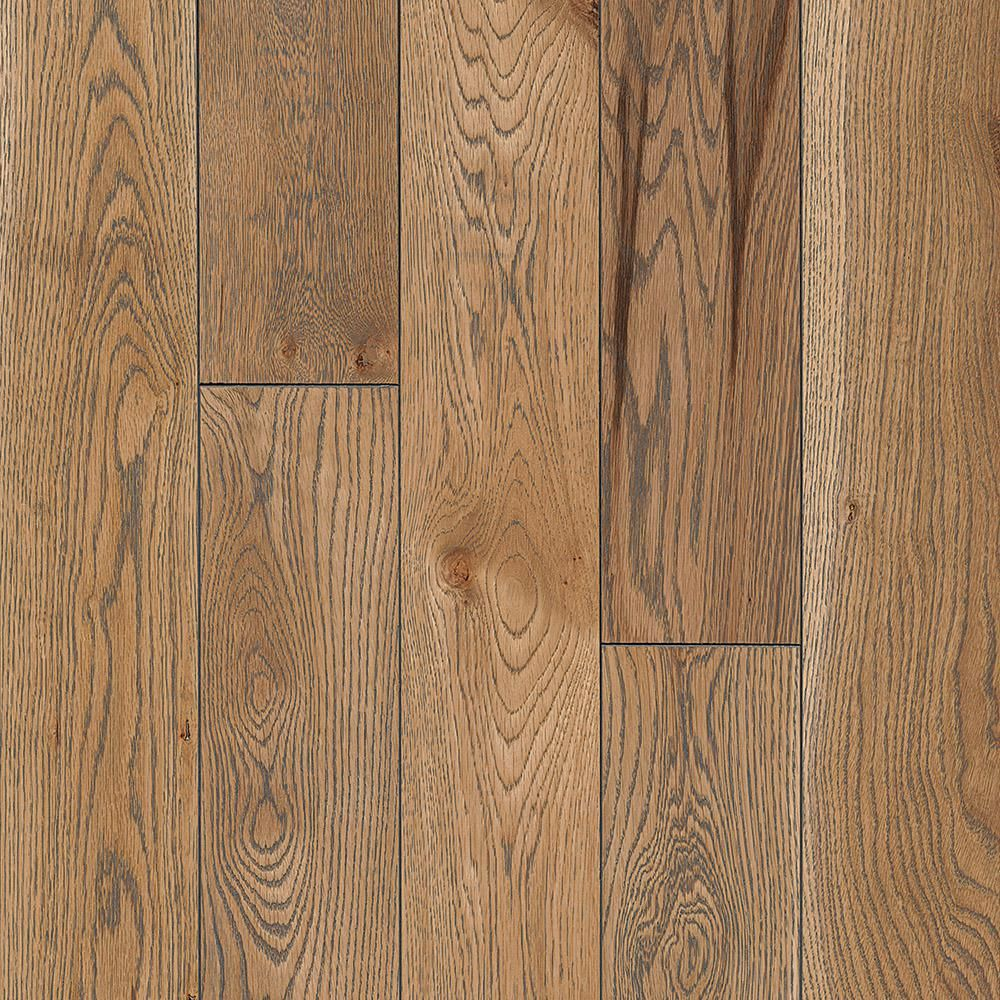 Bruce Revolutionary Rustics White Oak Subdued Gray 3 4 In T X 5 In W X Varying L Solid Hardwood Flooring 23 5 Sq Ft Case In 2020 Hardwood Floors Bruce Hardwood Floors Flooring