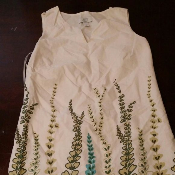 b97dfc2122 Ann Taylor Loft summer linen dress