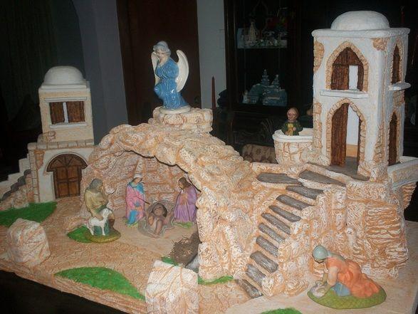Casas para pesebres buscar con google navidad - Casitas para pesebre de carton ...