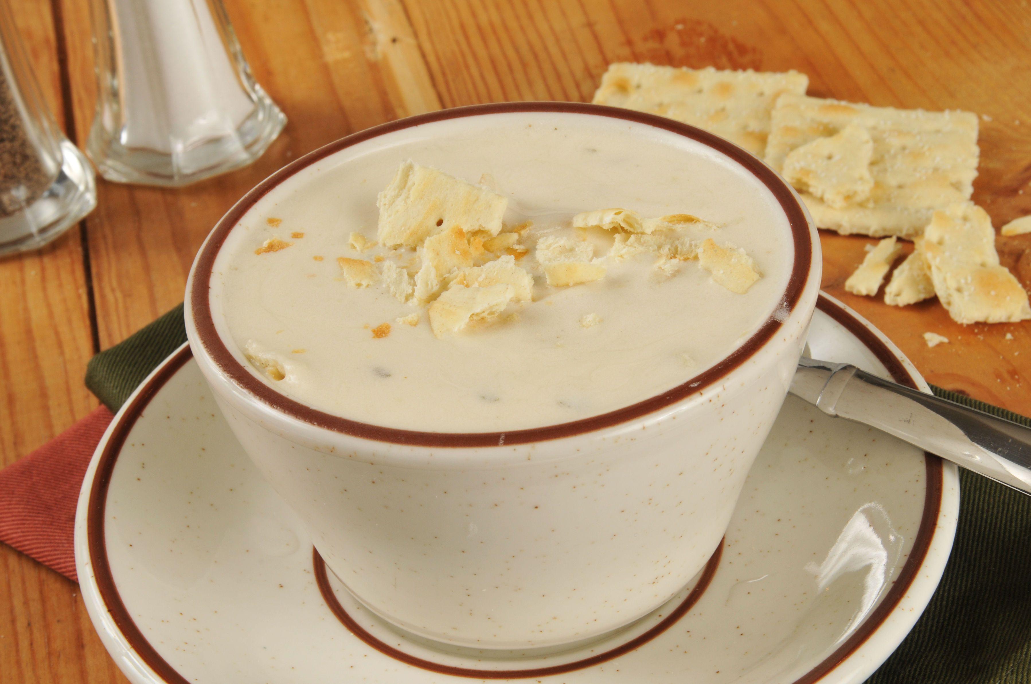Classic Soup Recipe: New England Clam Chowder