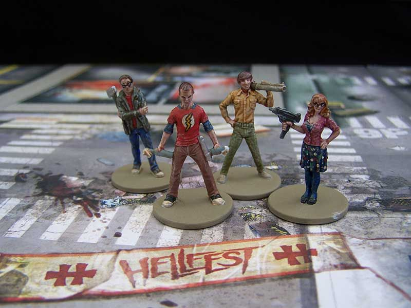 Image result for zombicide big bang theory