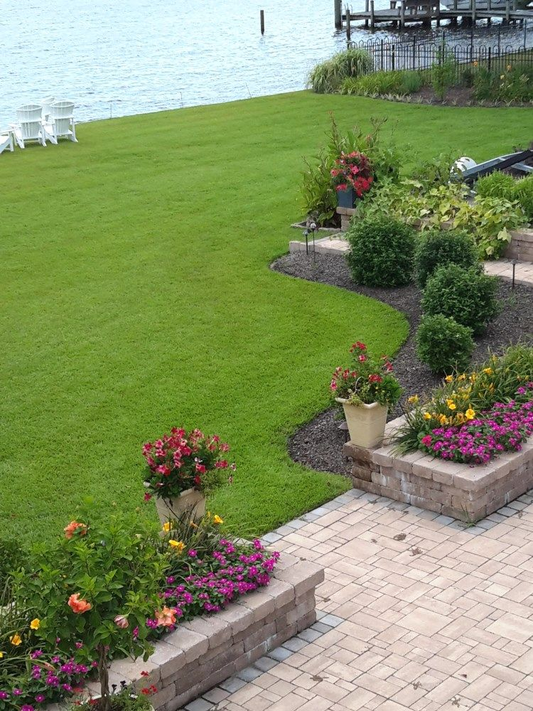 Residential Lawn Care Portfolio Lazy Weekends Landscaping Landscape Design Edenton Elizabeth City North Carolina