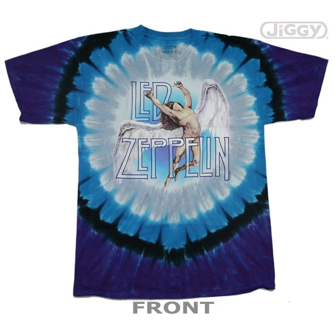Led Zeppelin Colorful Swan Song T-Shirt