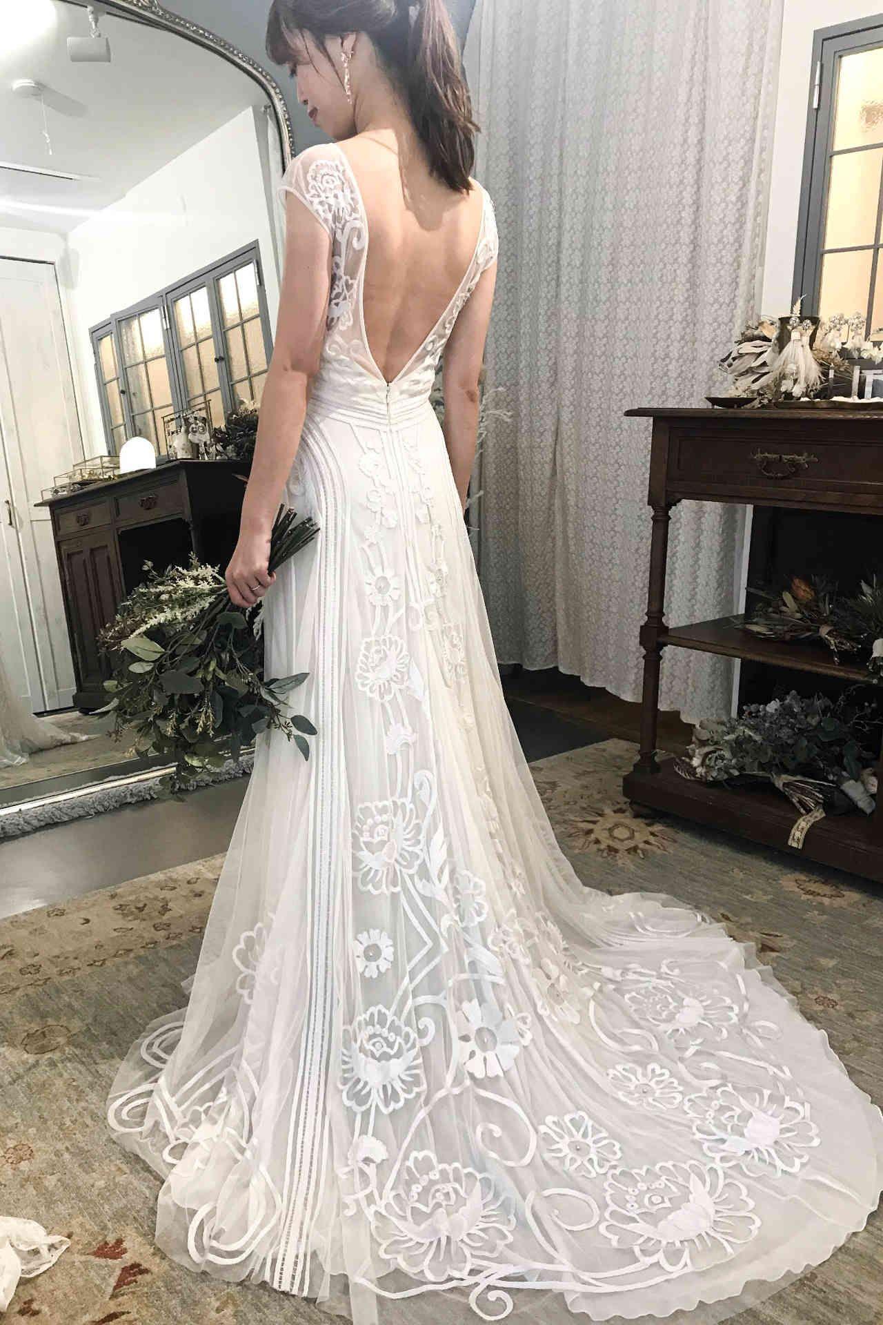 ウェディングドレス プリンセスライン - ウェディングドレス