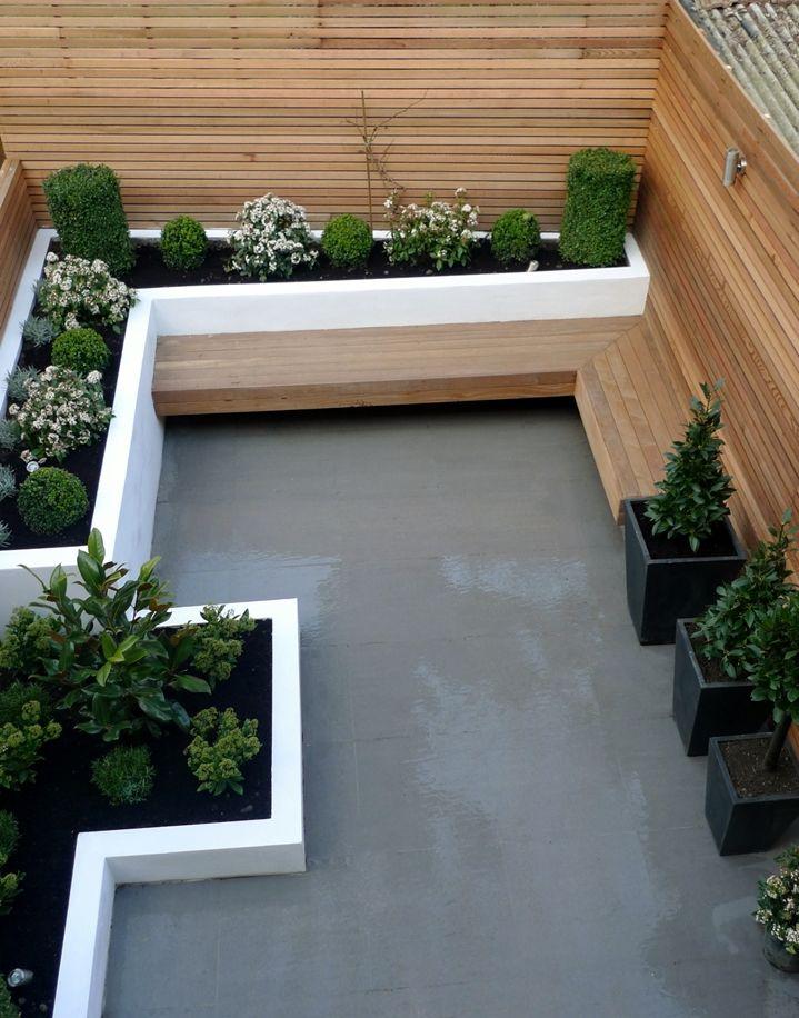 Photo of Gartengestaltung mit Sitzecke