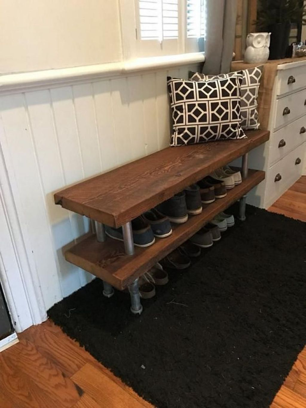 48 stylish industrial shoe rack designs ideas you will on shoe rack wooden with door id=27706