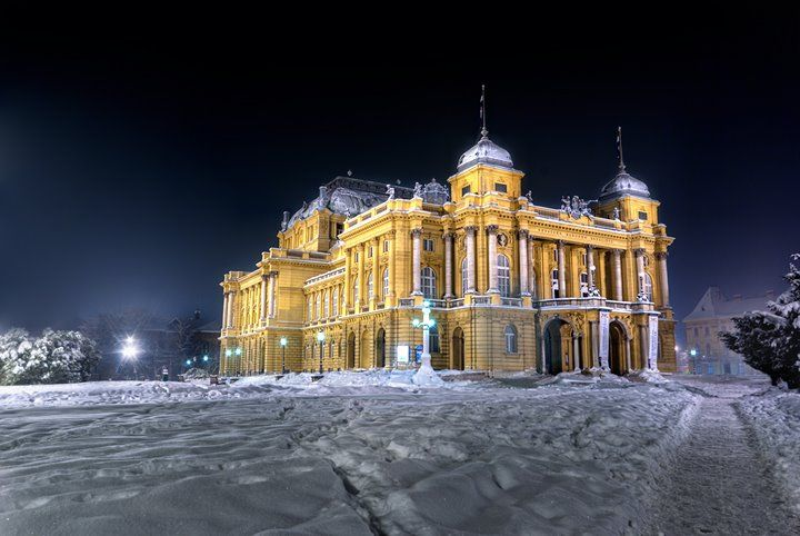 Croatian National Theatre Zagreb Photo Domagoj Doko Opera House Best Architects House Styles