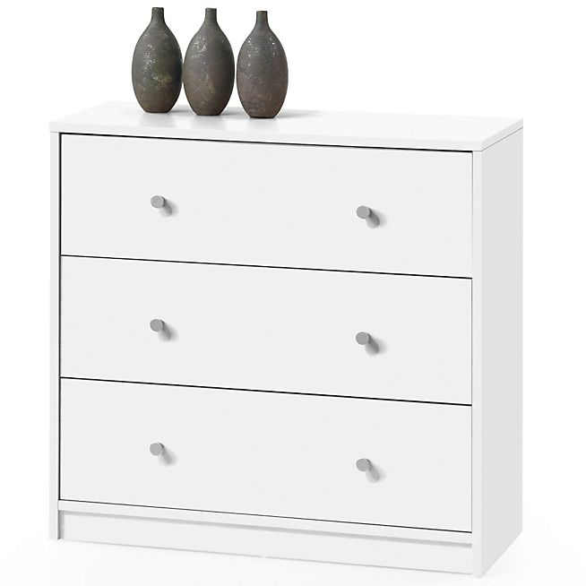 June Commode Blanche 3 Tiroirs 69 99 Nouvel Appart Finitions