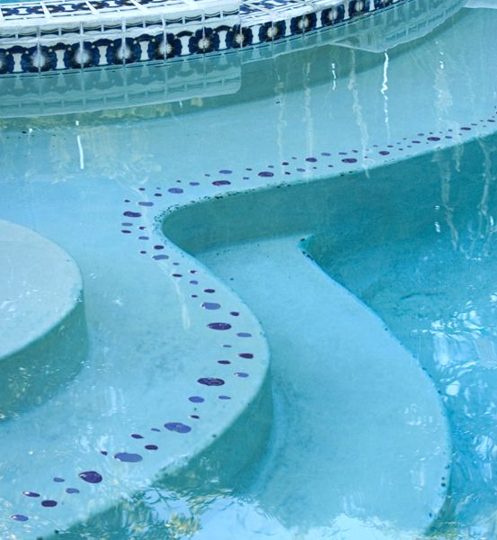 Bubbles Step Markers Mosaic Pool Swimming Pool Tiles Mosaic Pool Tile