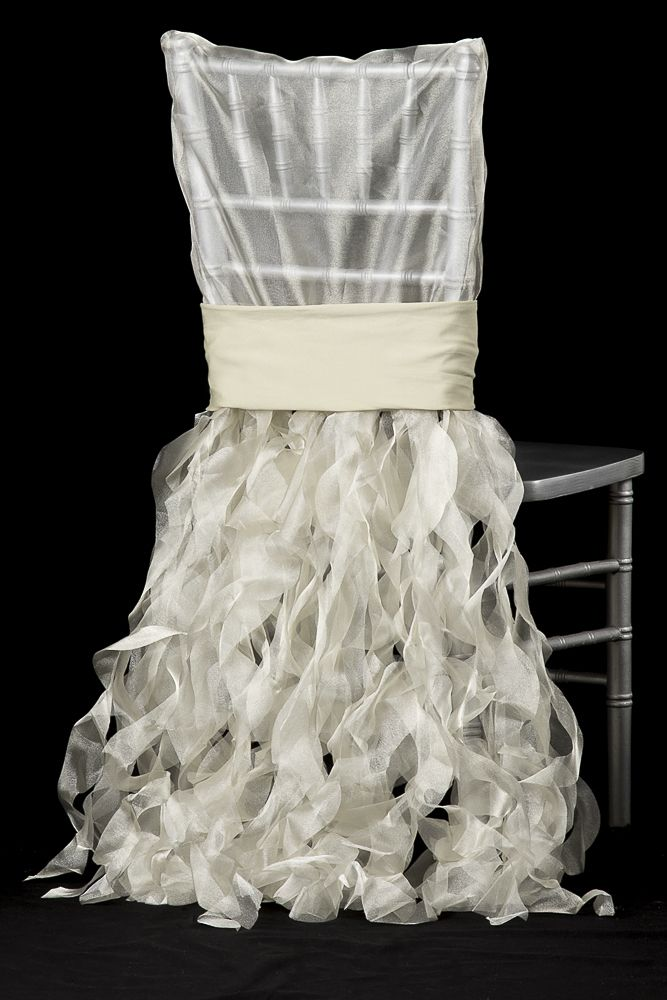 Curly Willow Chiavari Chair Back Slip Cover