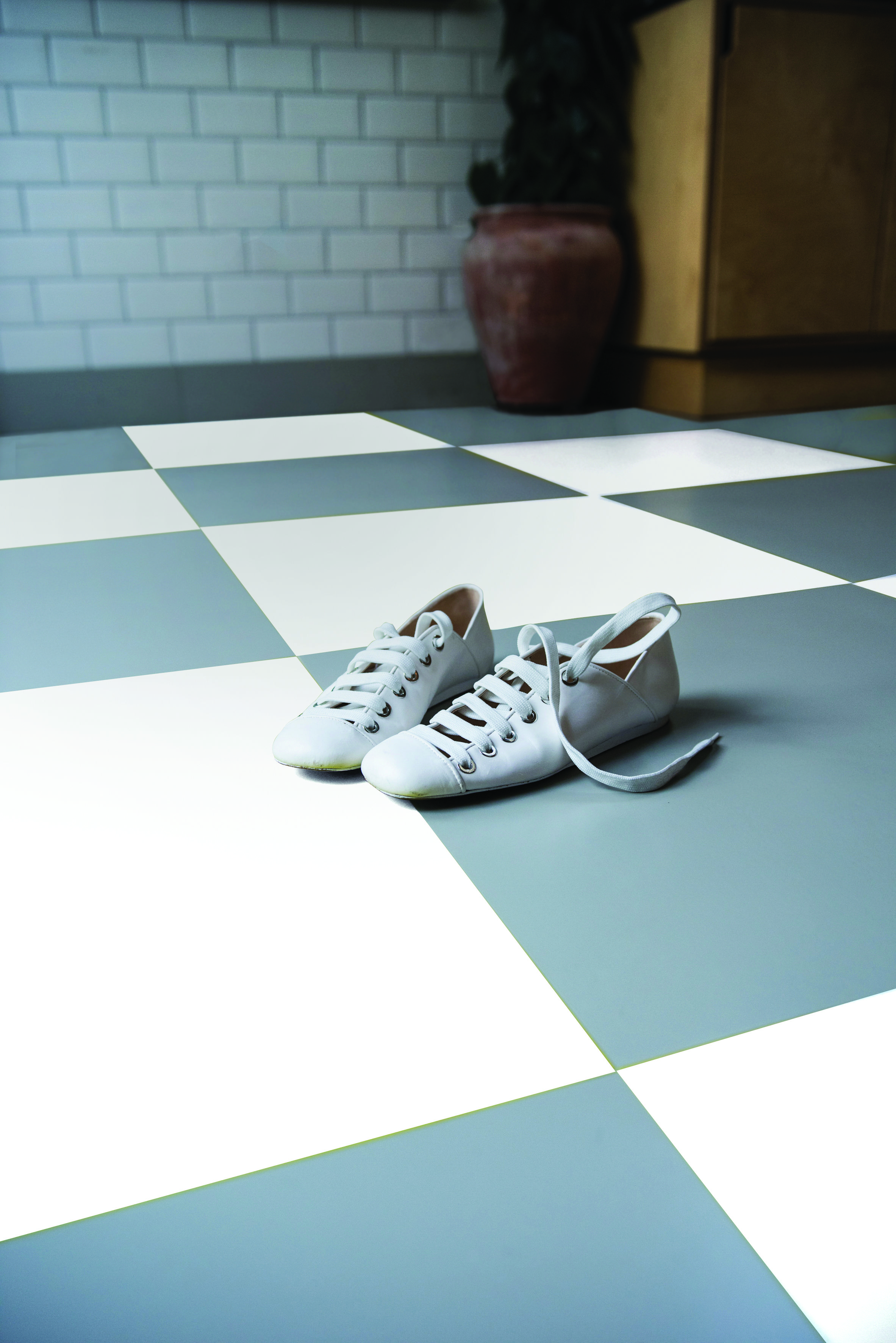 Rubber Square tiles grey. Mildmay grey from Colour Flooring Company ...