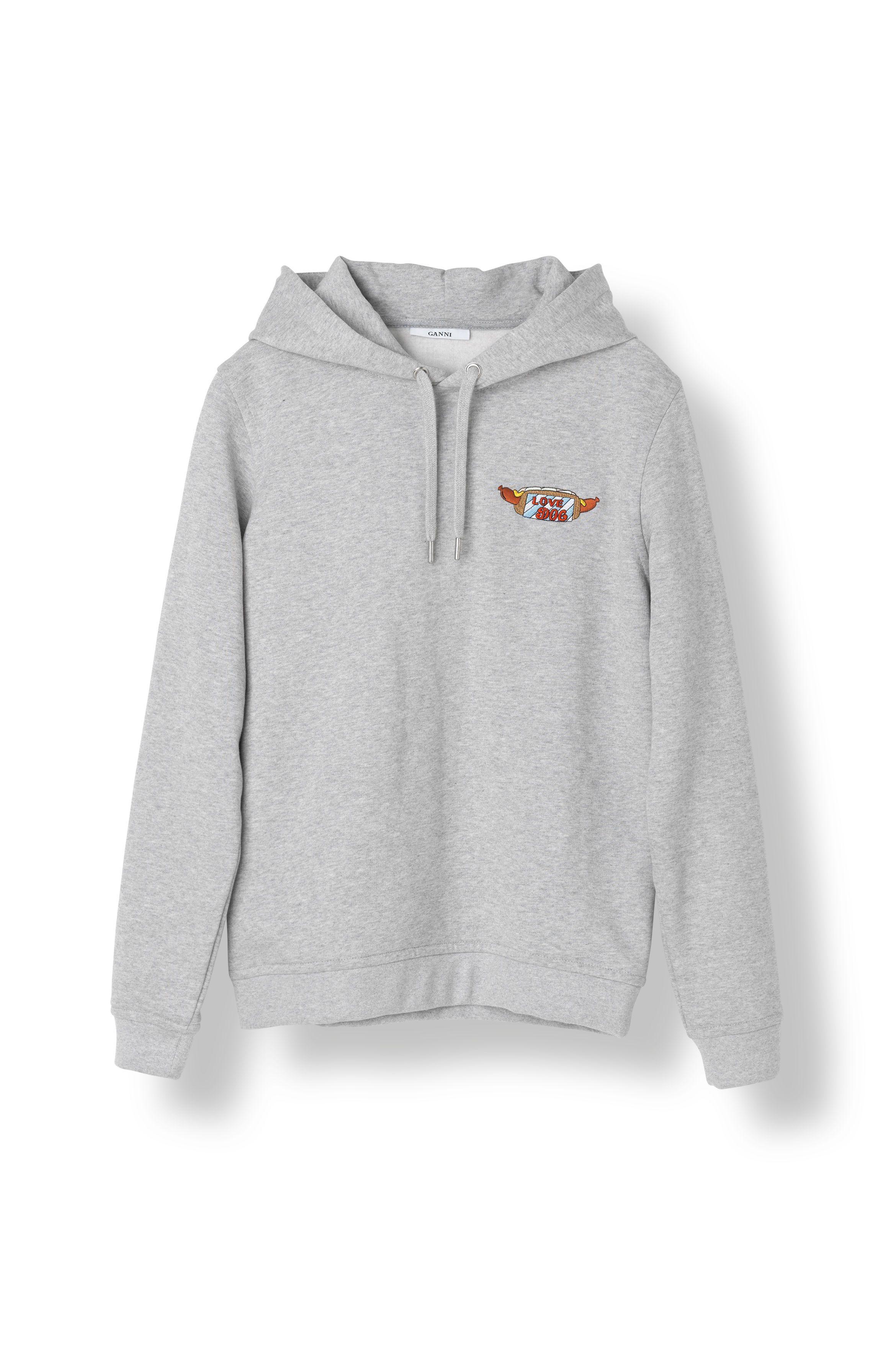 Lott Isoli Ganni Hoodie Ul Hoodies Gray Hoodies Sweatshirts [ 3512 x 2340 Pixel ]