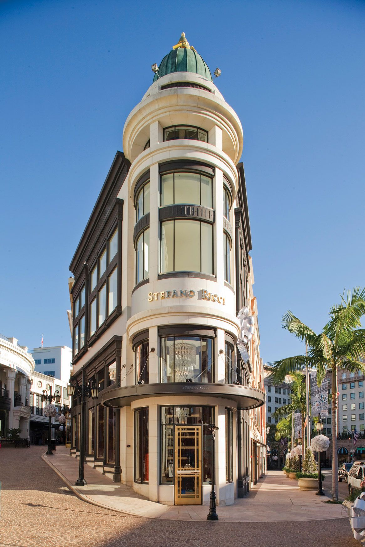 Rodeo Drive Beverly Hills Los Angeles California
