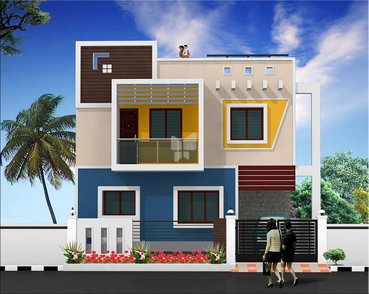 Front Elevation Tiles Chennai : Nandavanam villas in porur chennai with prices starting