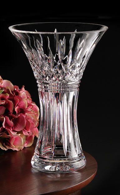 Waterford Crystal House Of Waterford Trilogy Lismore Crystal Vase
