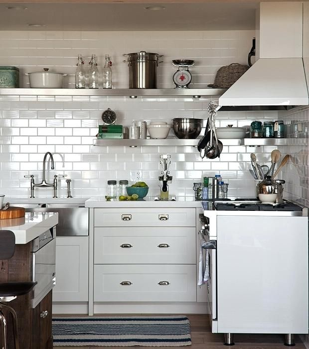 image result for corner open shelves kitchen open kitchen shelves kitchen remodel farmhouse on farmhouse kitchen open shelves id=97287