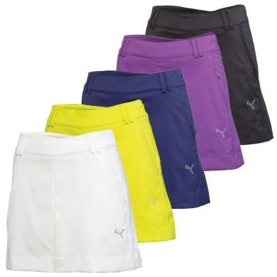 The Puma Golf Tech Skirt for 2013 is a lightweight and airy way to play cooler golf in Puma style. Wear the same fashion as players like Lexi Thompson, Anna Nordqvist, and Blair O'Neal.