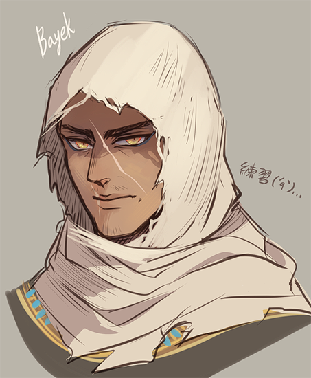 Image Result For Bayek Of Siwa Fanart Assassins Creed Art