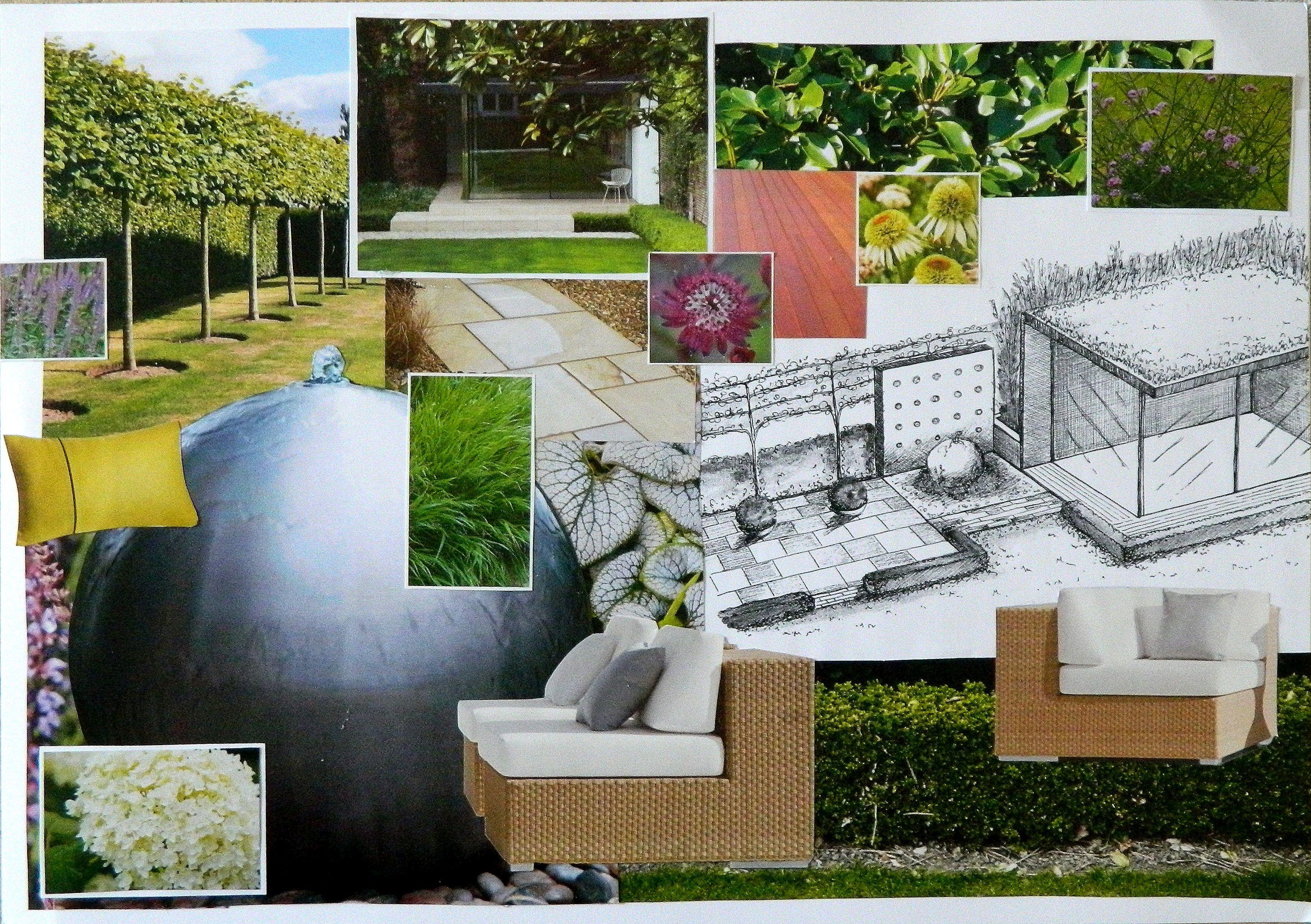 Pin By Joe Brimson On Garden Contemporary Garden Patio Design Landscape Design