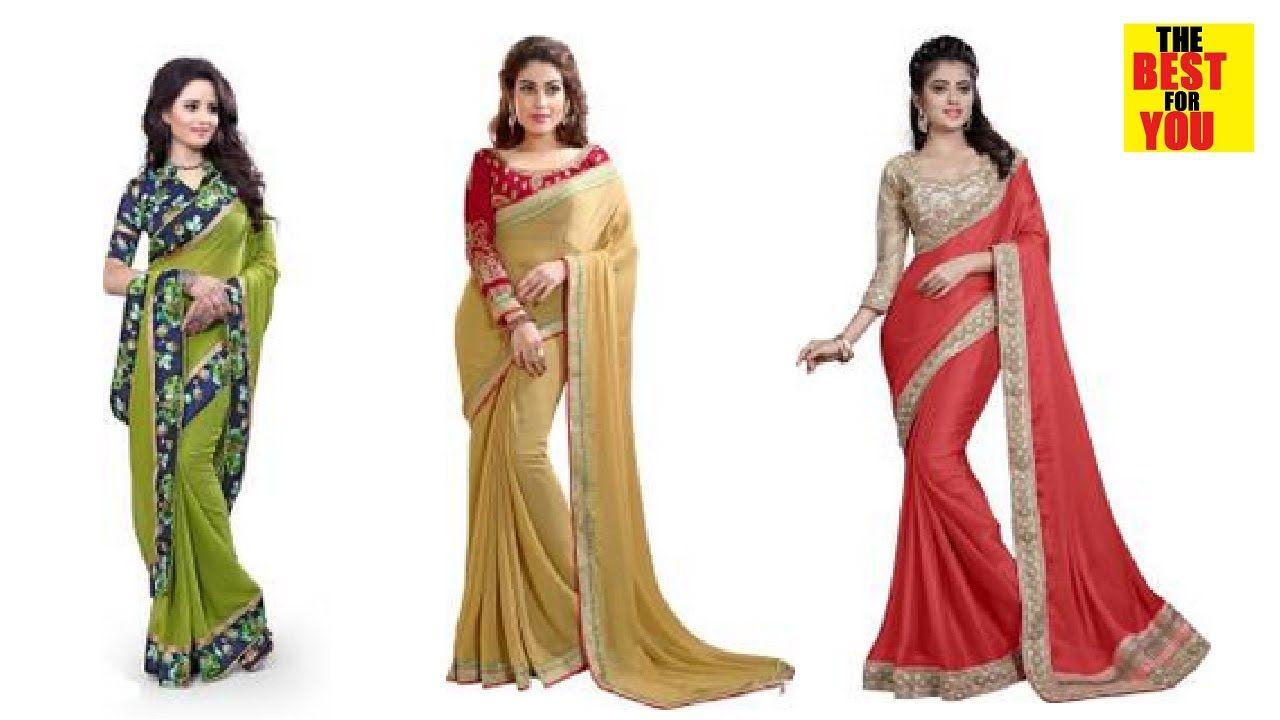 Mehndi Party Saree : Latest wedding party saree collection in flipkart