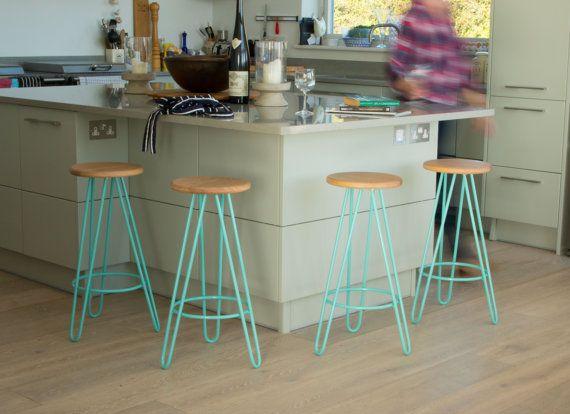 Bar stool, Counter Stool, mid century bar stool, industrial bar ...