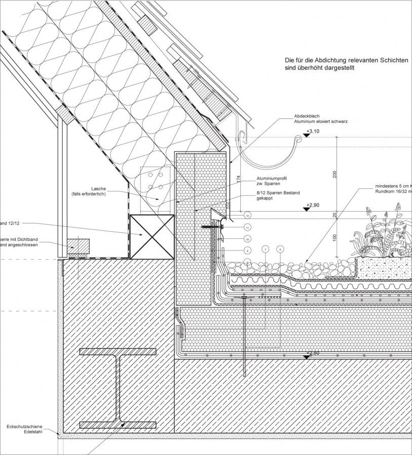 House Anne Menke Roof Detail Architecture Details Roof Construction