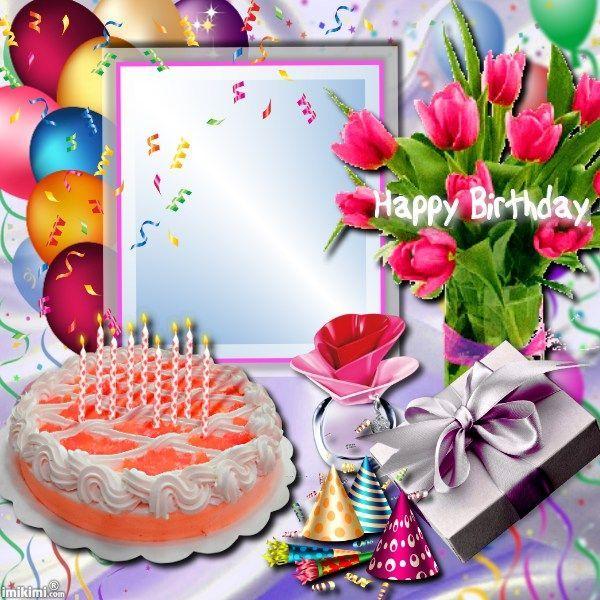 Imikimi Happy Birthday Photo Frames Birthday Pinterest