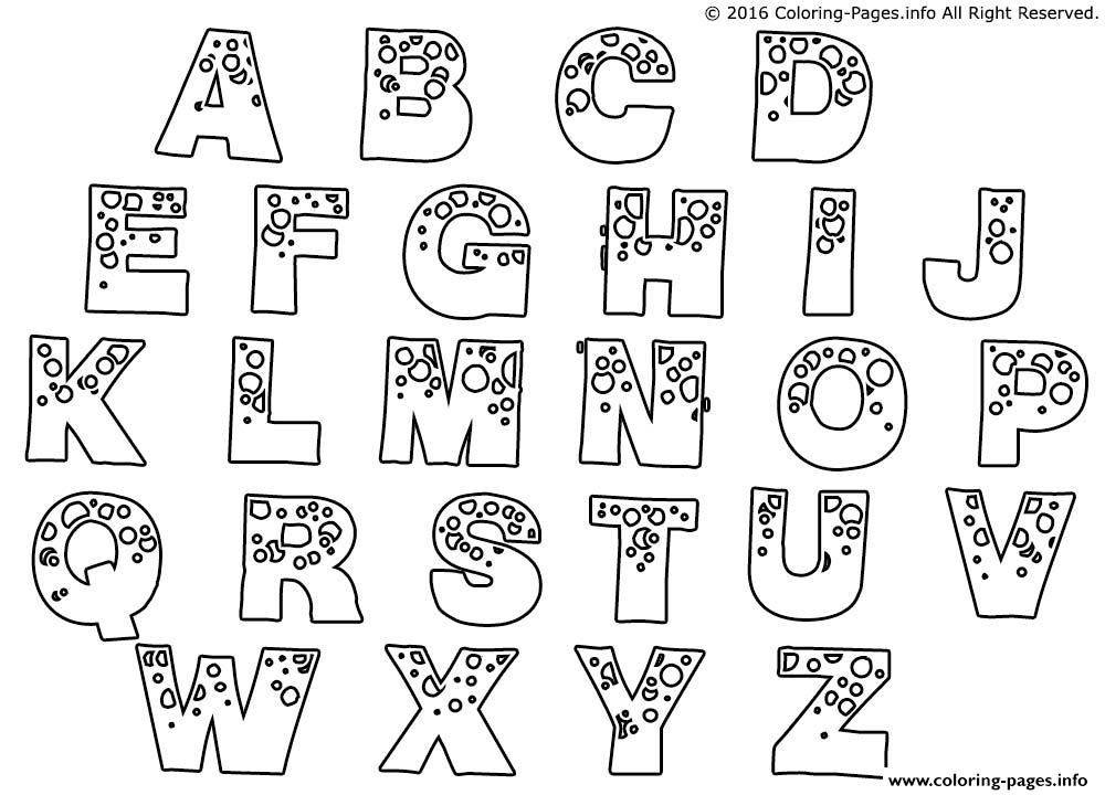 print bubble letters bubble man coloring pages - Coloring Letters