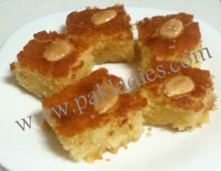 How to make perfect basbusa english urdu recipe food explore arabic recipes arabic food and more forumfinder Image collections