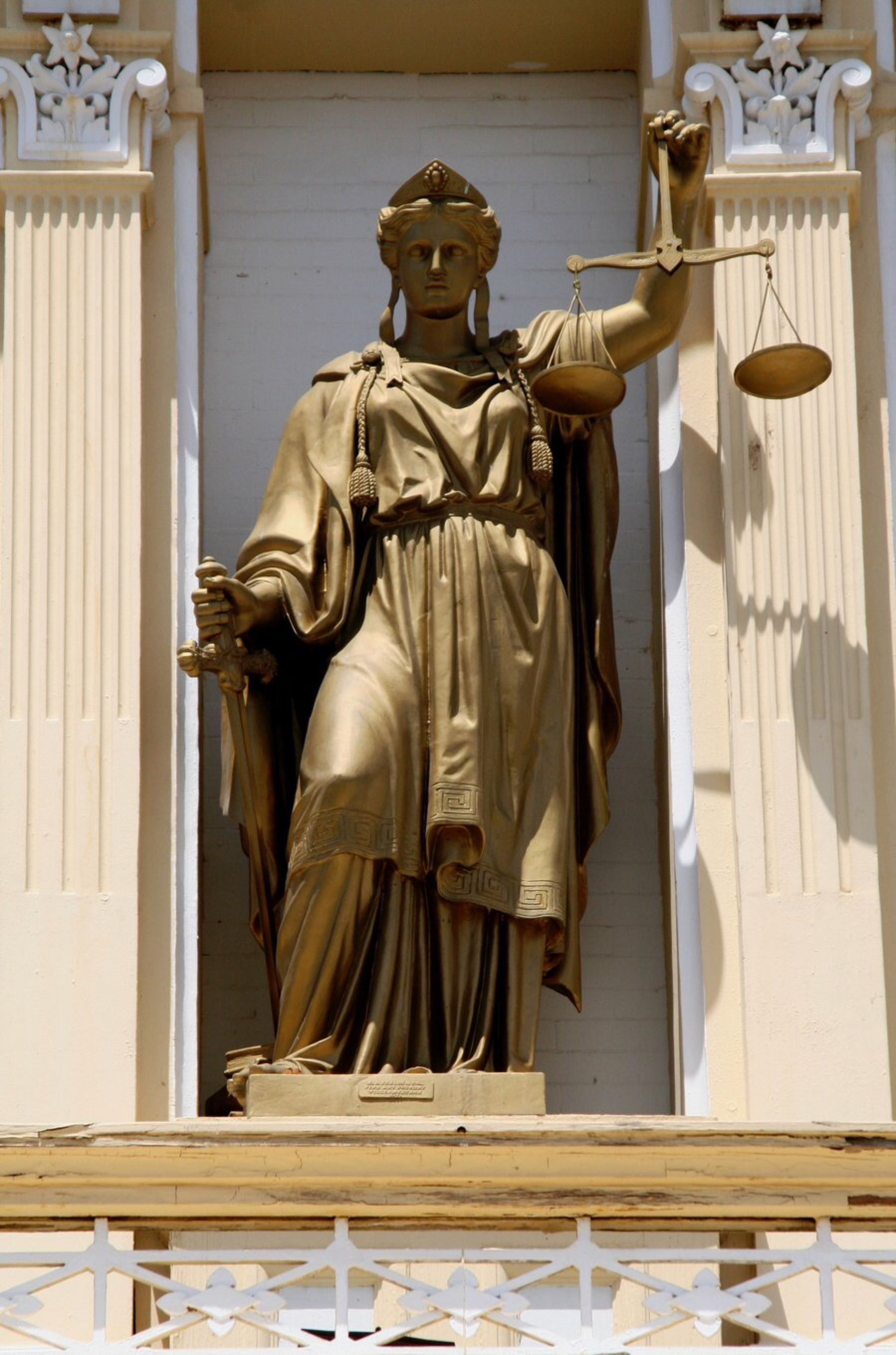 Lady Justice In The Sun By Wordworker On Deviantart Lady Justice Art Poster Design Lady Justice Statue