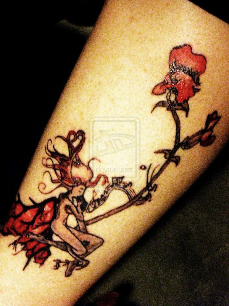 Snap Dragon Tattoo without the fairy thing Faerie
