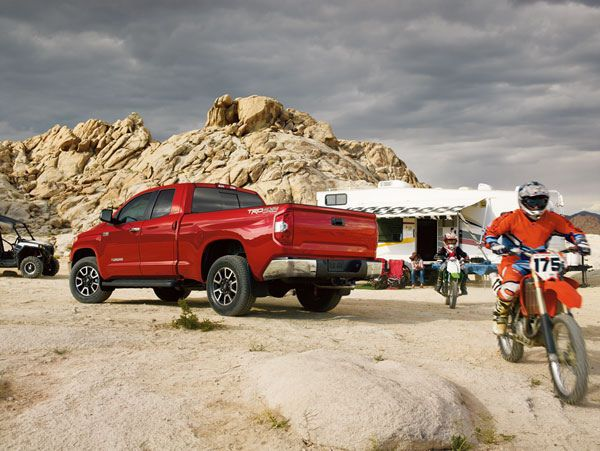 Go on an adventure in the #Toyota #Tundra