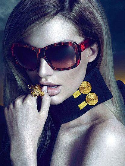 Candace Swanpoel for Versace Eyewear