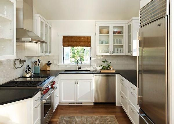 U Shape Kitchen Designs  Preferably Less Cabinets Above Alluring 11 X 8 Kitchen Designs 2018