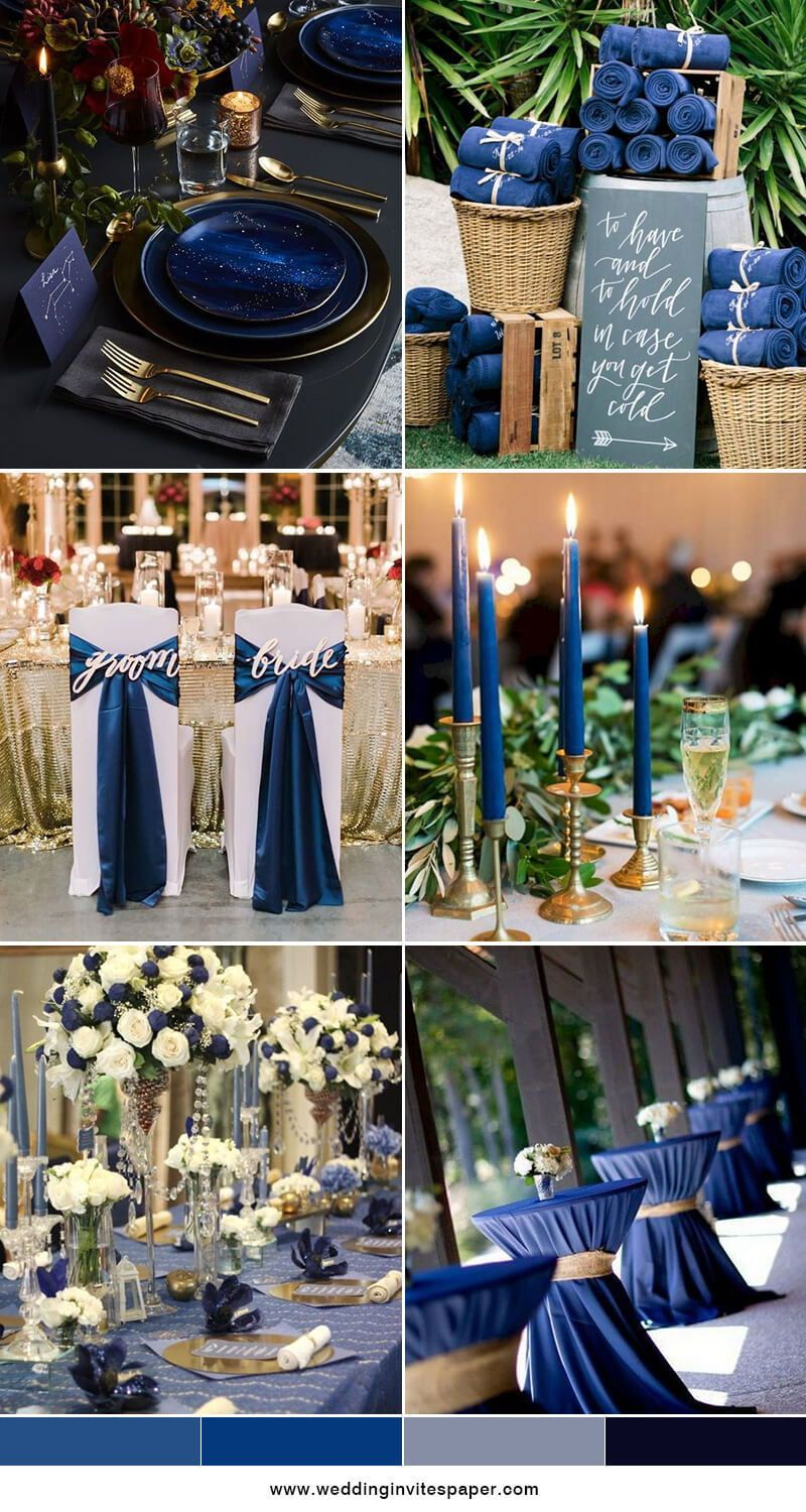 50 Prettiest Spring Wedding Color Inspirations You Must See Navy