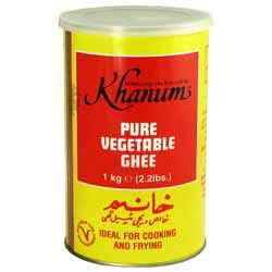 Pure Vegetable Ghee - Khanum - 1kg