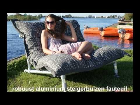 Ikea Zitzak Buiten.Trendy Zitzak Fauteuil Of Stoel Van Steigerbuis Ook Voor Zitzakken