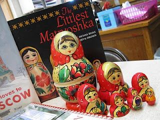 Great book when teaching about Russia and Matryoshka dolls